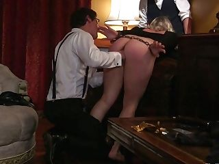 Lewd Hooker Aiden Starr Gets Her Beaver Fucked And Penalized In Public