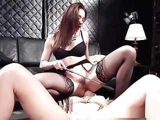 Blonde Submissive Licks Arse And Ass-fuck Fucks