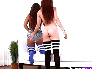 Foxy Lesbos Michelle Taylor And Calypsa Micca