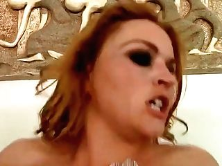 Unearthly Buxomy Krissy Lynn Featuring Hot Bang-out Activity Ending With Jizz Shot