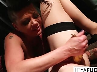 Whorley Quinn Interrogates Crazy Jezebelle Then Gets Double Penetration'd|1::big Tits,trio::girl-on-girl,20::cougar,25::onanism,26::blonde,38::hd