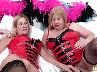 Oldnanny Brit Matures Loving Lezzie Lovemaking