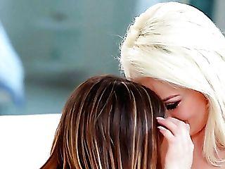 Nice Girl/girl Intercourse With Lovely Vivid Honey Kristen Scott Gonna Be Supreme