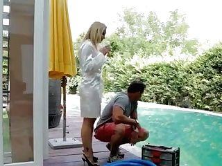 Hot Mistress Banging Honey With Strap On Dildo