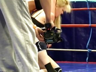 Girly-girl Fighters Antonya And Sophie Moone Lose Their Cut-offs