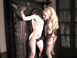 Girl/girl Domination & Submission In Slow-mo
