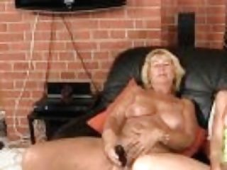 """""""step-mom Instructing Blonde Chick Playing And Old Man Sausage Railing"""""""