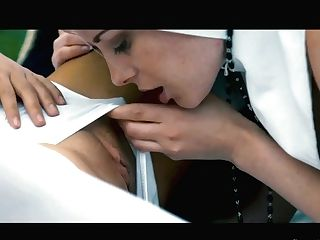 Sinful Honey Charlotte Stokely Is Making Love With Intercourse-appeal Nun